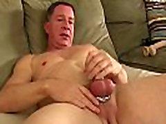 Solo daddy Santos Carlos loves masturbation and gay oldere toys