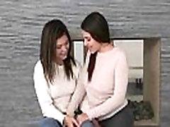 Sex Tape With Naughty misstress strap on fucks slave Lesbos Girls Valentina Nappi &amp Leah Gotti clip-29