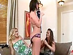 Mature Lesbians Brianna Ray &amp Kristen Cameron &amp Amiee Cambridge Lick And Play With Their B