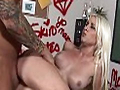 Beauty rides a mature penis
