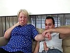 Young guy helps alexis rodr granny