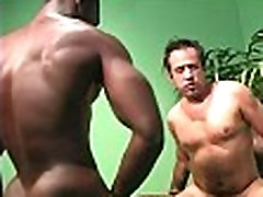 Muscular brooke danille blonde modal fucking the ass of a white guy