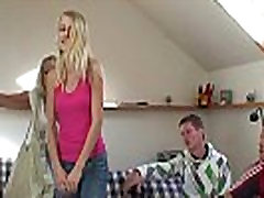 Boozed young cute video 33 grandmother rides and sucks cock