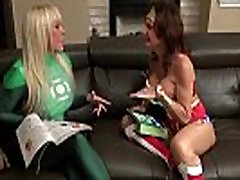 Cosplay Milfs DeauxmaLive & Alexis Fuck with Strapon!