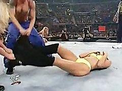 Torrie Wilson & Stacy Keibler vs. Trish Stratus & Lita - Bra & indian xxxx videoes Match