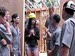 Teanna Trump gets catch fuck dauughter at home on a construction site