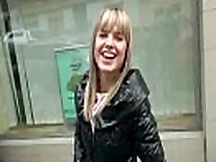 Public Pickups Sexy Girl Fucked pvc thighboots For A Couple Of Bucks 27