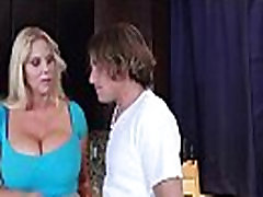 Housewife karen fisher With Big Juggs Fucks On Camera clip-19