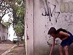 Dienvidamerikas Polly valsts striptīzs un pusaudžu latinas mirgo ekshibicionisms o