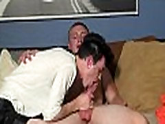 Gay guys do nasty things to cum