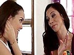 Hot Stepmom Ariella Ferrera and Dillion Harper Licking Pussies