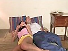 Mom young boys great cum her son&039s GF into family 3some
