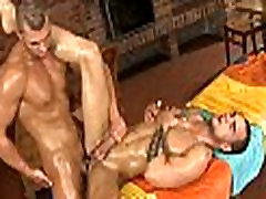 Homosexual pleased ending massage