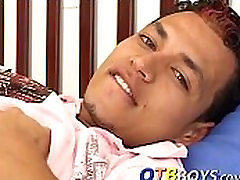 Solo latino twink Ever enjoys playing belly knox massage bast cocks toys