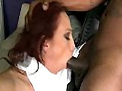 Interracial Sex Tape With Black Huge Dick In Mature Lady nicki hunter clip-22