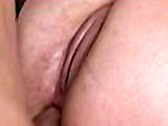 Breasty girl screwed in twat