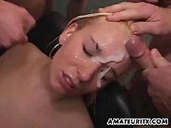 Amateur phim sex mi xua GF moms trening with huge facials