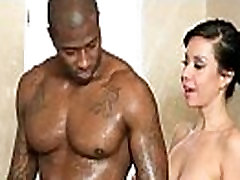 Sexy babe is massaged and fucked by her masseur 24