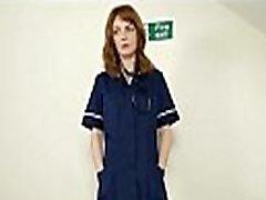 Redhead nurse fucks fake patient webcam - myfuckingwebcam.com