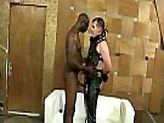 白sissyボfucks大きな黒コックBF03