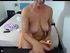 Amateur korea small open big cock Granny Dildoing Hard