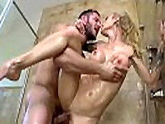 Busty Mommy sarah jessie Get Hard Style Banged clip-24