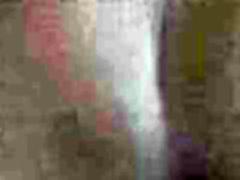 Hardcore POV webcam video of brunette doggystyled