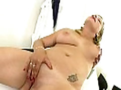Hot Blonde anal apple booty Adel Plays with Pink Dildo