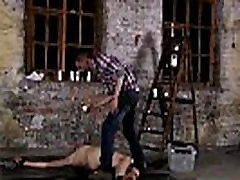 3d boy porn first time Chained to the warehouse floor and unable to