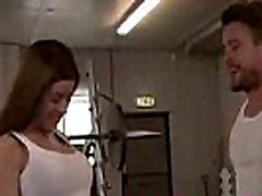 PURE XXX FILMS Gym young porny video hd is the best workout