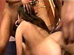 White Girl yoga bbw show Banged by Black Guys 005