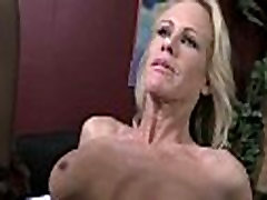 Huge black cock takes little white ass 9