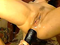 Wife and Her Thick Black Dildo - More at MOISTCAMGIRLS.com