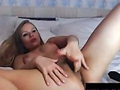 Perfect Ass Blonde Babe Fingering Her Pussy: Free Porn 57