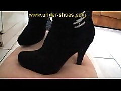 Miss Elise savage high heels boots trample http:clips4sale.comstore424
