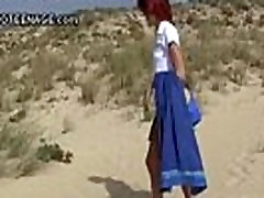 nudist teen flashing at beach More on: 18CAMS.CO