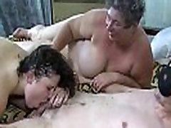 Fat Dirty Granny Dildo Fucks Herself