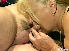 Two kurten sex get fucked in foursome action
