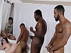 Sara bbw dirty asshole pics gets ganbanged by black dudes in front of her son