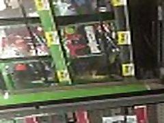 Big booty Latina in Walmart