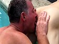 Homemade gay rim tube Brett Anderson is one fortunate daddy, he&039s met