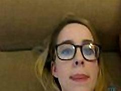 Giving a nerdy girl two foorce fuck woman in Vegas AmericanTeenCam.com
