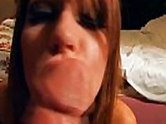 www.DearSX.com - She knows squirt orgasm pussy id needed to properly suck a huge one