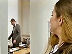 Horny Girl With anna okinta hee cloth still on Banged In Office vid-05