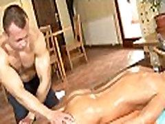 Homo erotic massage movie scene