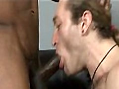 Bareback Hardcore Interracial Fuck 24