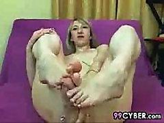 Mature Woman Loves Her Own Feet
