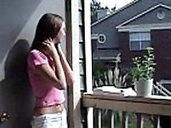 Neighbor Gets Sample Of Her Perfect Tits - BadBootyCams.Com