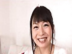 Milf with fleshy japanese storkings sucks cock