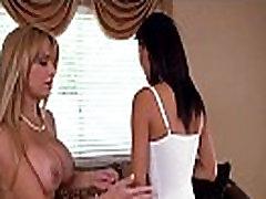Banging sex firest Alyssa Lynn and babysitter Alina Li